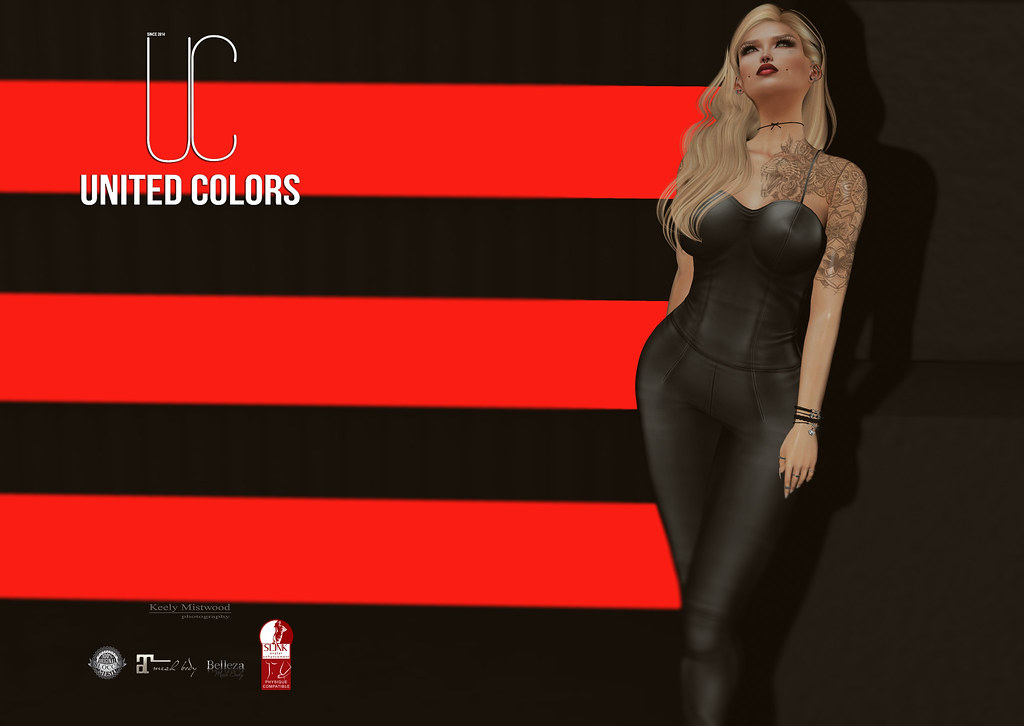 United Colors UC Nikita Jumpsuit available in 10 colors at The Darkness Event June 4 - SecondLifeHub.com