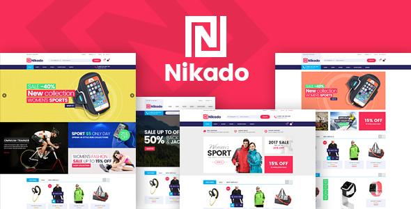 Nikado v1.0 – Responsive Opencart Theme