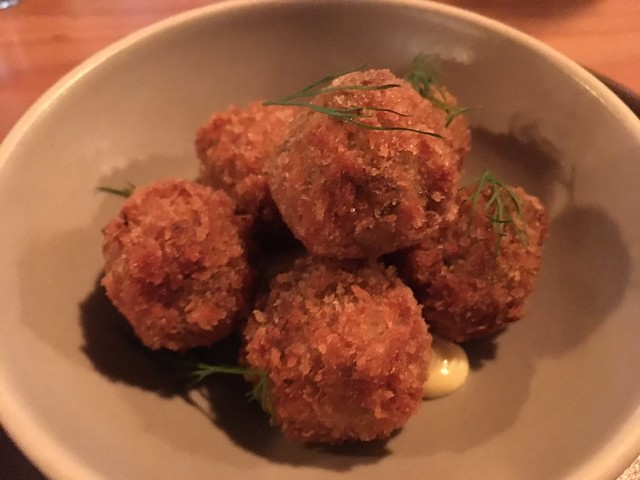 Ham hock and potato croquettes - The Perennial