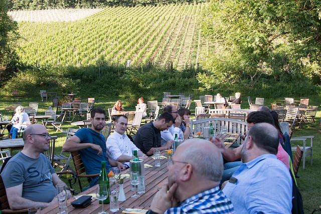 SQL Saturday Rheinland - Speakerdinner auf dem Weingut Sülz - Foto von Dirk Hondong - Flickr