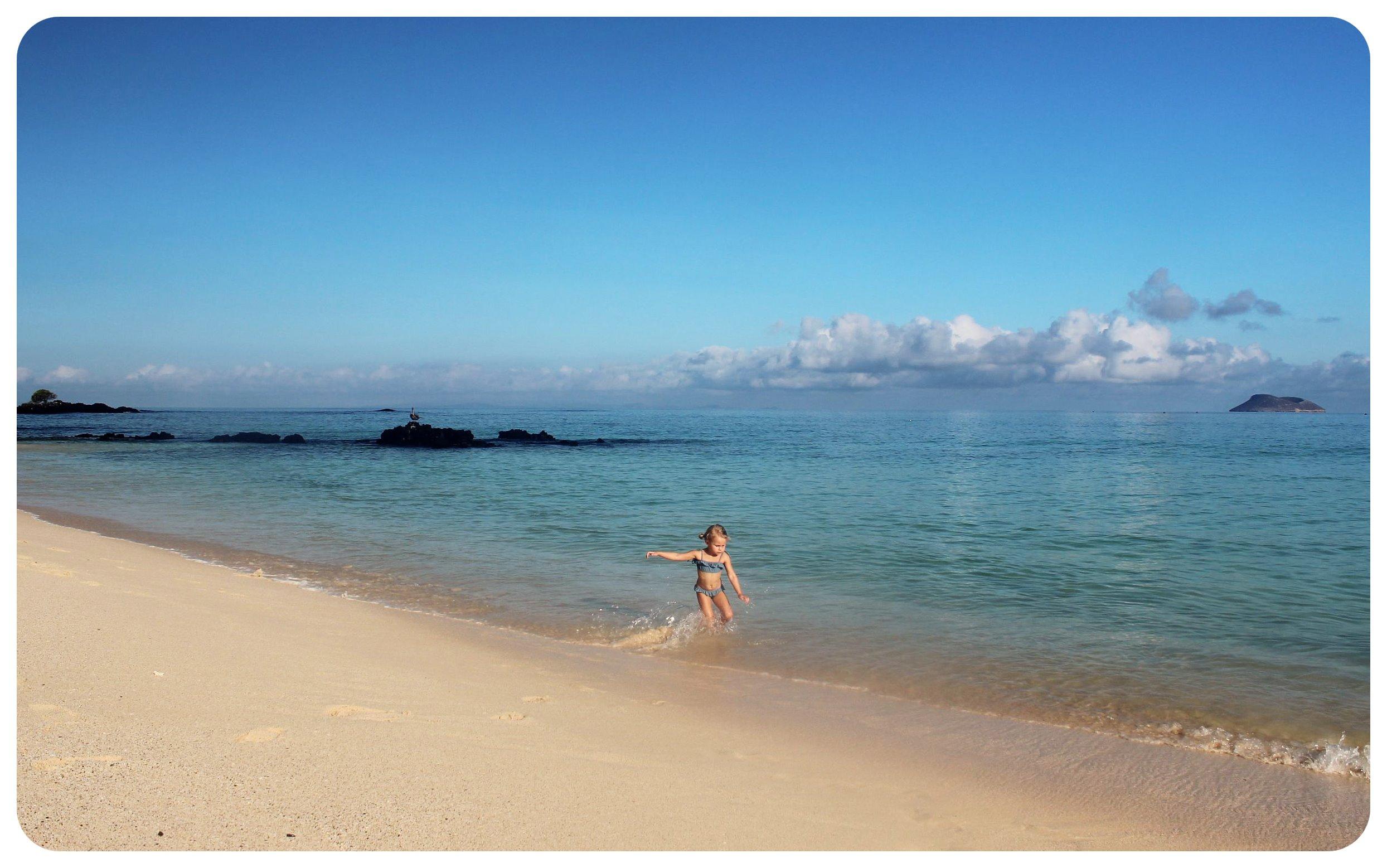galapagos beach