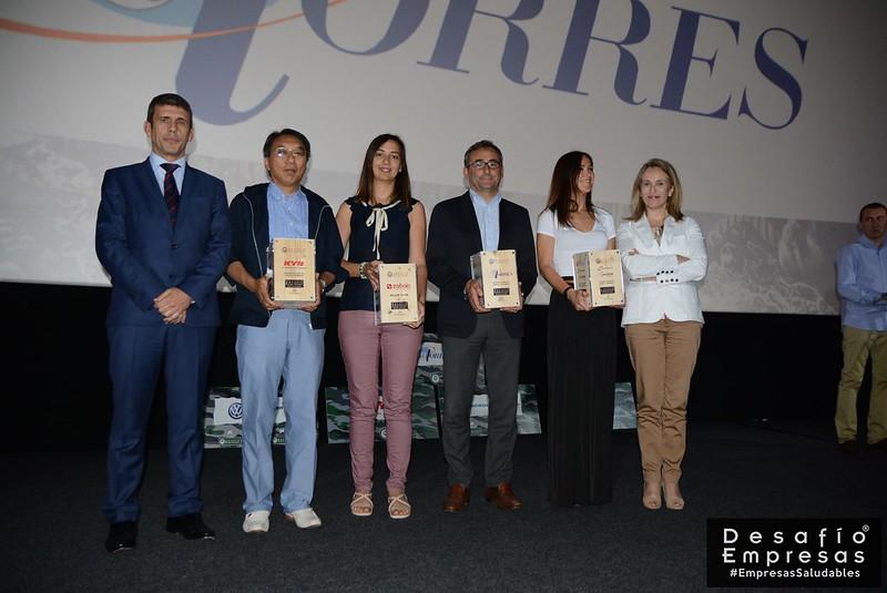 Entrega de trofeos Desaf�o Empresas 2017