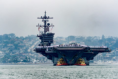 USS Carl Vinson (CVN 70) returns to its homeport of Naval Air Station North Island, June 23. (U.S. Navy/MC2 D'Andre L. Roden)