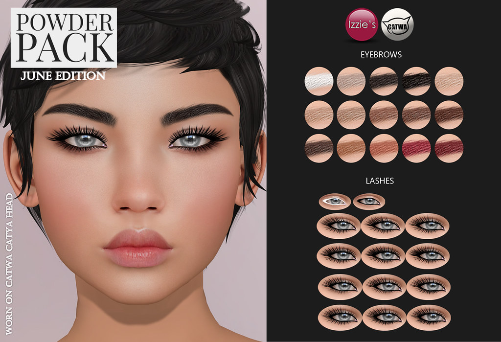 Powder Pack Catwa June Edition - SecondLifeHub.com