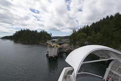 BC Ferries - Salish Eagle departing Long Harbour Terminal.