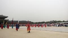 Seoul, Gyeongbokgung Palace, Ceremony