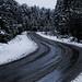 El camino de la nieve.