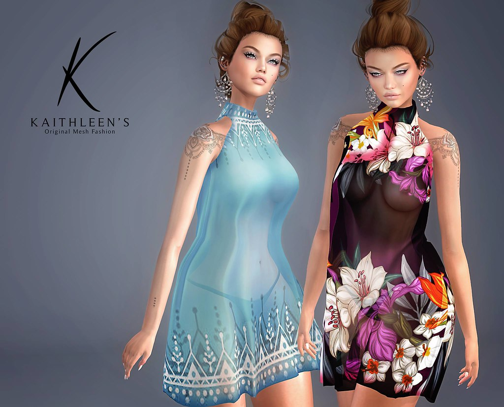Kaithleen's Wild Dress - SecondLifeHub.com