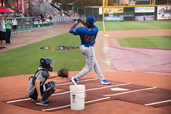 Ibandel Isabel of the Rancho Cucamonga Quakes - First half HR leader in California League HR hitting contest