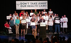Don't Take Our Health Care Rally