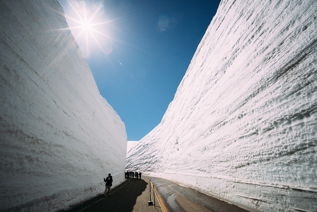 Tateyama's Snow Walls 立山黑部 雪の大谷, Sony ILCE-7RM2, Canon EF 40mm f/2.8 STM