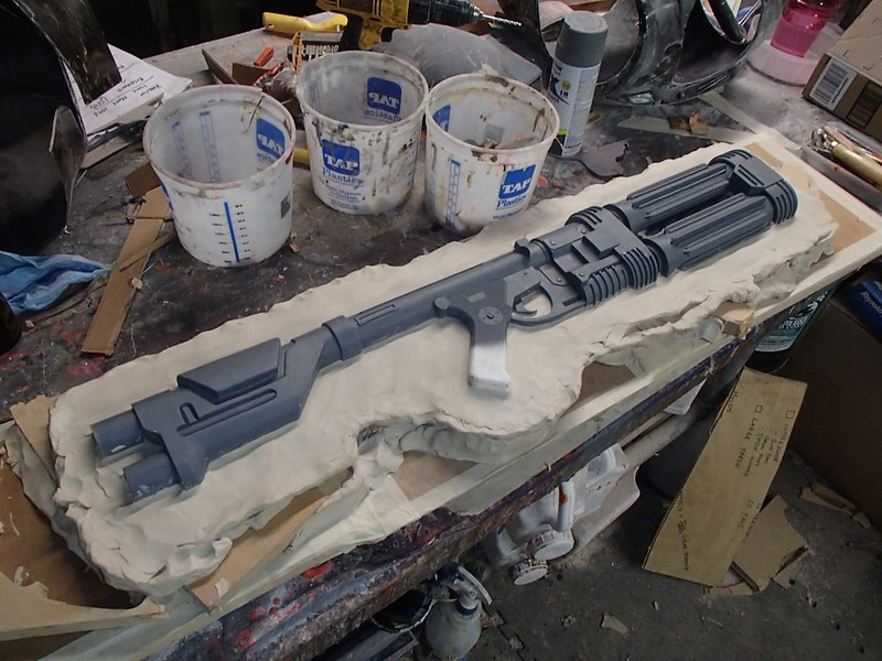 Building Clay Wall for E-22