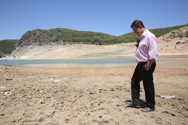 Visita al pantano de Entrepeñas en Sacedón