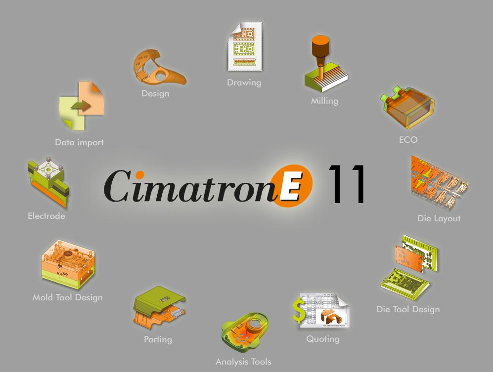 download Cimatron E11 32bit 64bit full crack | link Cimatron E11 full