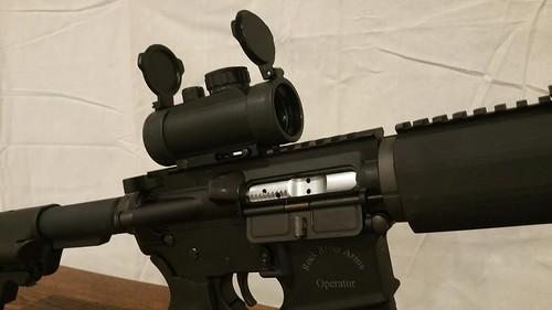bullseye holographic sight red dot2