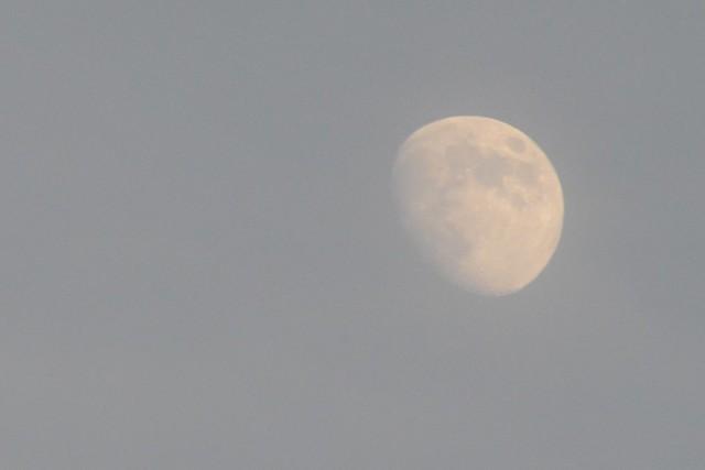moon july 4, Nikon D3200, AF-S DX Zoom-Nikkor 55-200mm f/4-5.6G ED