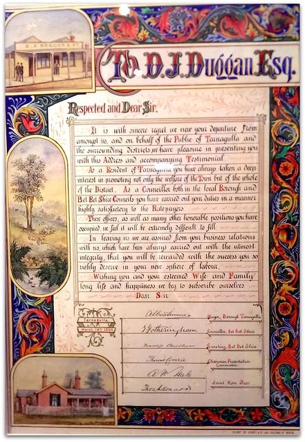 DJ Duggan Illuminated Manuscript 1894