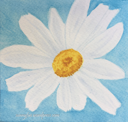 #worldwatercolormonth Day 1