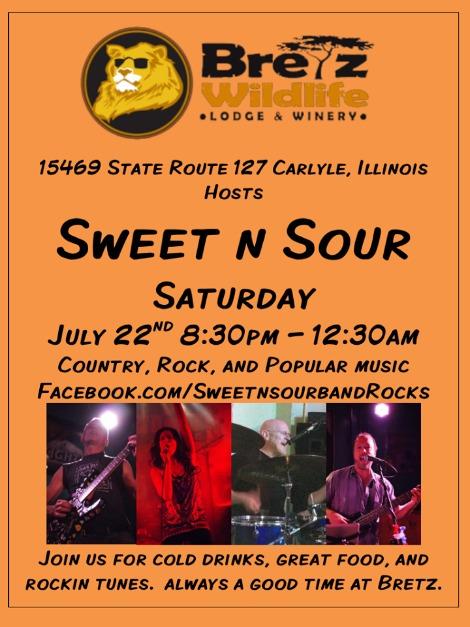 Sweet n Sour 7-22-17