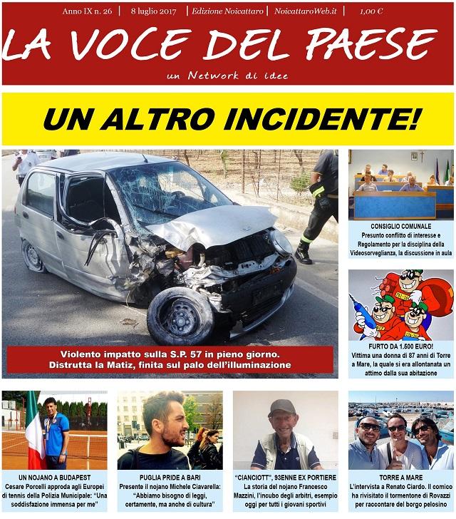 Noicattaro. Prima pagina n.26-2017 intero