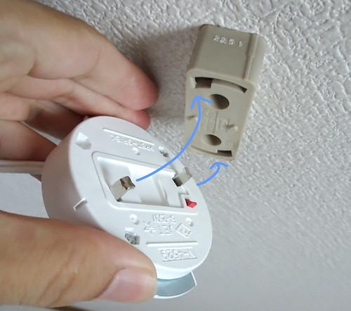 LEDシーリングライトの取り付けや交換方法