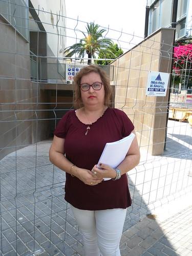 Carmen Espada concejal del pp residencia huerta palacios