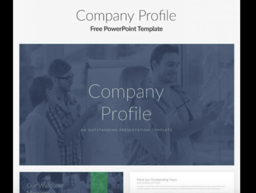 security company profile template - free powerpoint templates 50 best sites to download