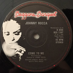 JOHNNY ROCCA:I WANT YOU(LABEL SIDE-B)