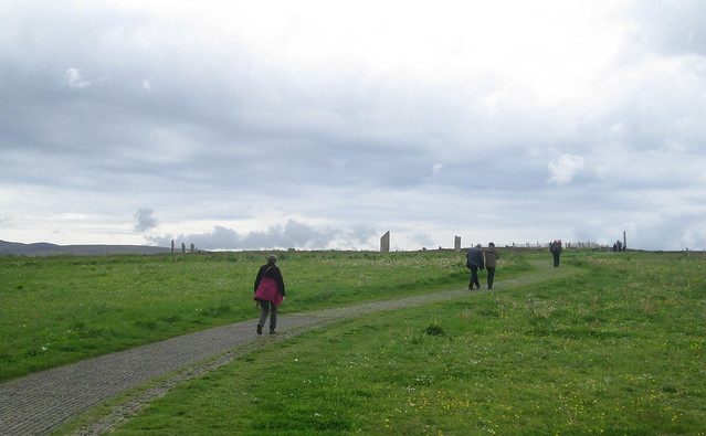Ring of Brodgar, Orkney, From Path 1