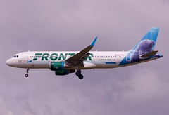N238FR A.320 Frontier Airlines