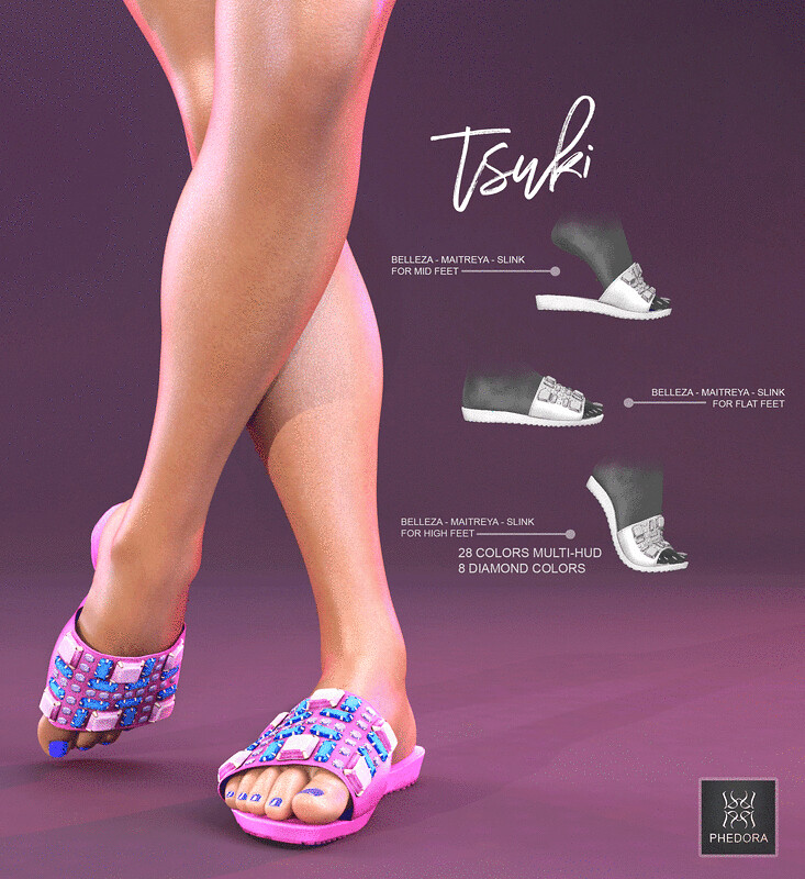 """Tsuki"" funky sliders available @Tropical Fair!!! ♥"