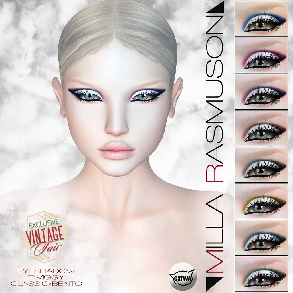 [Milla Rasmuson Make up] for Vintage Fair 2017 Event - SecondLifeHub.com