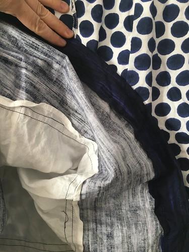 Lengethening a dress from Gap   EvinOK.com