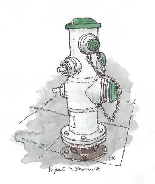 sonoma hydrant