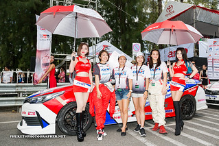 Pit stop girls at Toyota Fast Fun Fest 2017, Phuket island | by Phuketian.S