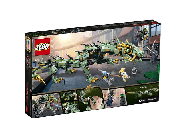 70612 Green Ninja Mech Dragon 2