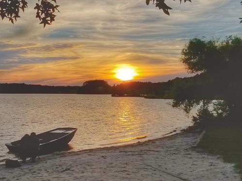 summertime sunset northcarolina