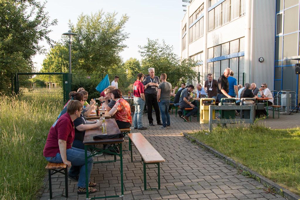 SQL Saturday Rheinland - Fachschaft grillt für die Teilnehmer - Foto von Dirk Hondong - Flickr
