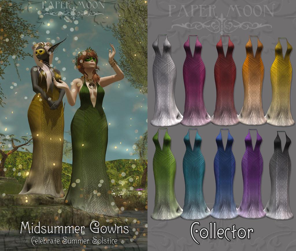 *pm* Midsummer Gowns advert - SecondLifeHub.com