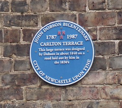 Photo of John Dobson blue plaque