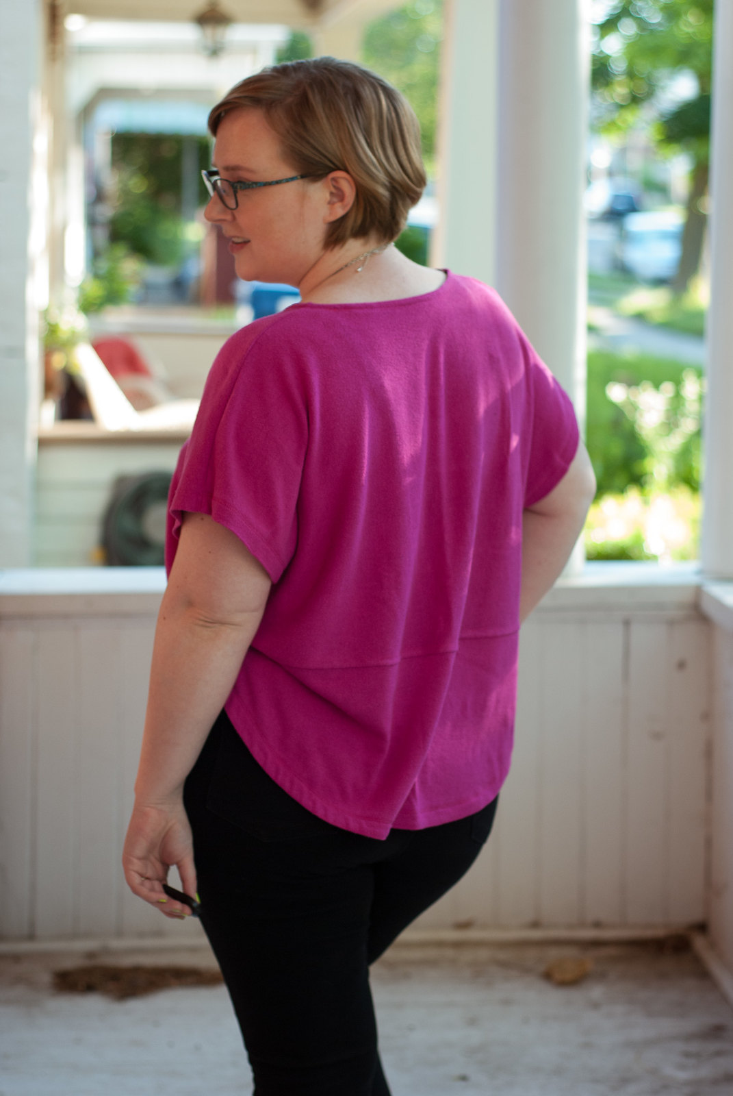 Seamstress Erin Ultraviolet Tee