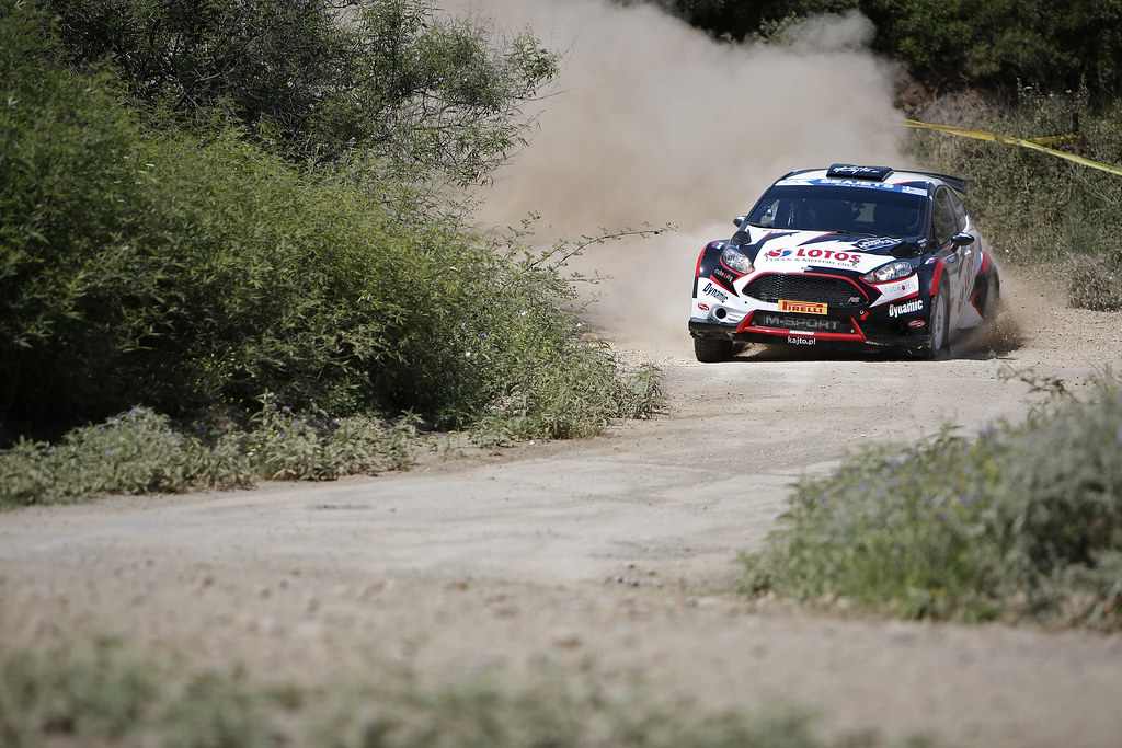 02 KAJETANOWICZ Kajetan (pol) and BARAN Jaroslaw (pol) action during the European Rally Championship 2017 - Acropolis Rally Of Grece - From June 2 to 4 - Photo Thomas Fenêtre / DPPI