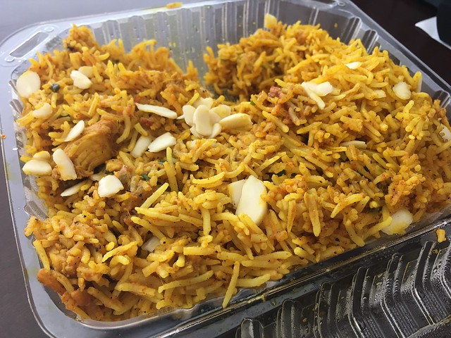 Chicken biryani - North India