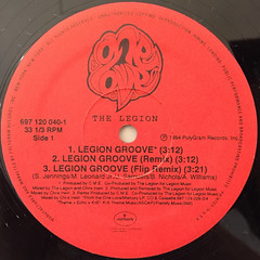 THE LEGION:LEGION GROOVE(LABEL SIDE-A)