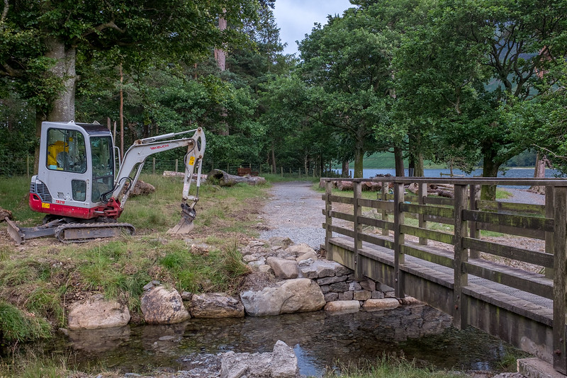 Trail Maintenance at Dalegarth/Hassness