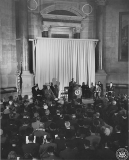 Photograph of General View at the Unveiling Ceremony