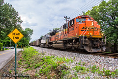 BNSF 9304 | EMD SD70ACe | NS Memphis District