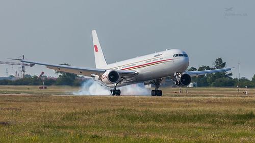 A9C-HMH Bahrain Royal Flight Boeing 767-4FS(ER)
