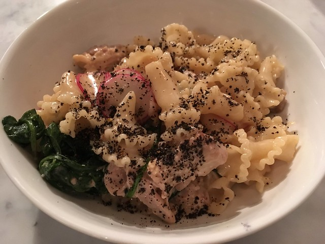 Campanelle with braised hen - Barzotto