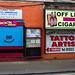 Tony's tattoo's